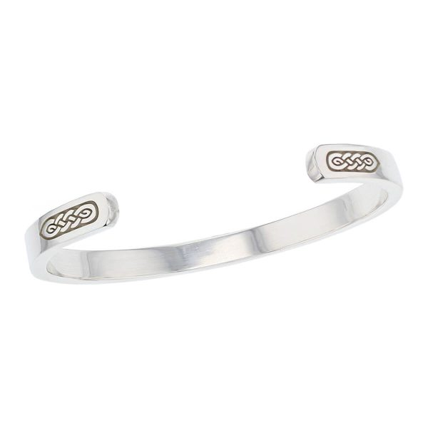 Faller solid sterling silver torc bangle, torque, torq, men's jewellery, celtic pattern, wrist wear, personalised engraving, handmade, designer