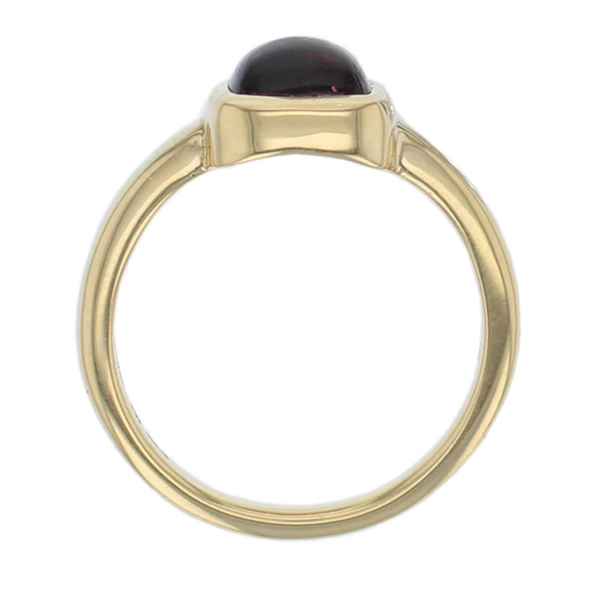 Kandy 18ct yellow gold yellow round pink tourmaline gemstone ladies dress ring, designer jewellery, gem, jewelry, handmade by Faller, Londonderry, Northern Ireland, Irish hand crafted