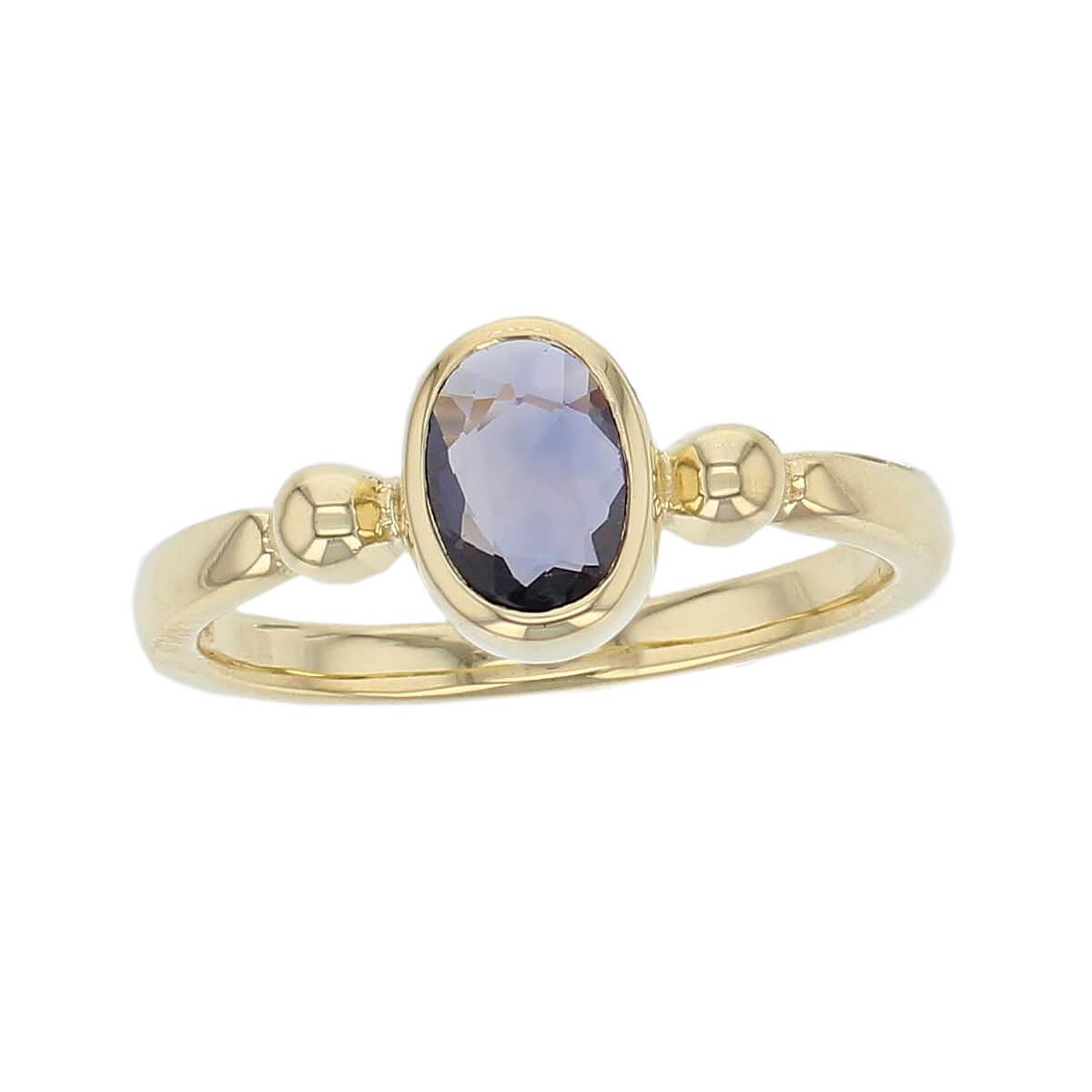Kandy 18ct yellow gold pale purple oval rose cut sapphire gemstone ladies dress ring, designer jewellery, gem, jewelry, handmade by Faller, Londonderry, Northern Ireland, Irish hand crafted